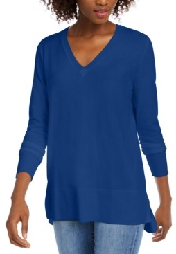 Maison Jules V-Neck Sweater, Created for Macy's