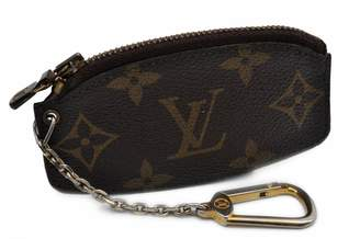 Louis Vuitton Brown Cloth Purses, wallets & cases
