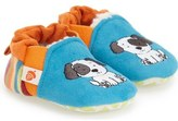 Acorn 'Critter' Easy-On Moc Slipper (Baby & Walker)