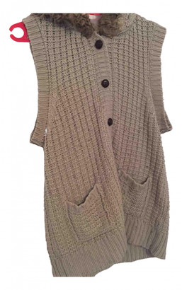 K-Way Beige Wool Knitwear