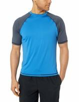 Burnside Mens Sun Protection Rashguard Swim Shirt Rash Guard Shirt