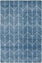 Kaleen DEnim Blue Sol Bamboo Silk Rug