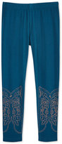 Epic Threads Mix and Match Western Boot Leggings, Little Girls (4-6X), Created for Macy's