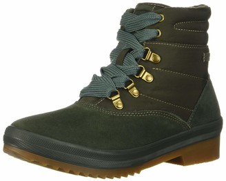 Keds Women's Camp Boot Suede + Nylon Thinsulate Wcx Cold Weather & Shearling