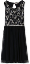 Speechless Sequin Mesh Dress, Girls (7-16)