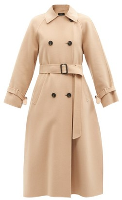 Max Mara Potente Trench Coat - Camel