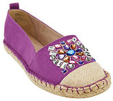 White Mountain As Is Slip-on Espadrille w/ Jewels