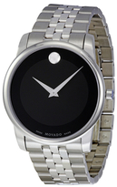 Movado Men's Museum Stainless Steel Dial Watch, 40mm