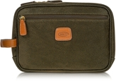 Bric's Life - Olive Green Micro Suede Travel Case