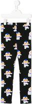Fendi printed leggings - kids - Cotton/Spandex/Elastane - 3 yrs