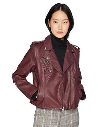 Levi's Women's Faux Leather Classic Asymmetrical Motorcycle Jacket
