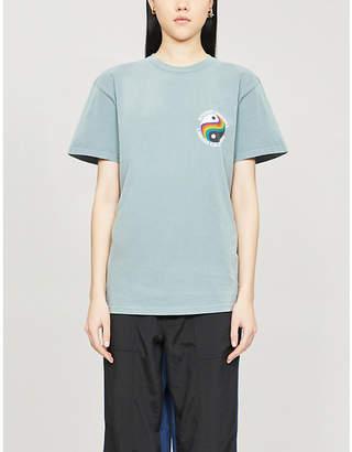 Stussy Laguna 80 printed cotton-jersey T-shirt
