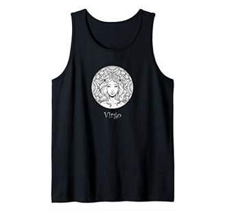 IDEA Virgo Zodiac Sign - Zodiac Virgo Feminine Gift Tank Top