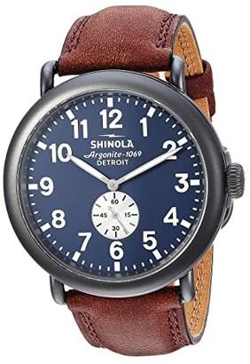 Shinola Detroit The Runwell 47mm - S0120065287 (Gunmetal/Cattail Grizzly) Watches