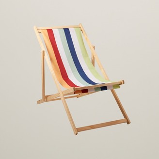 Indigo Folding Sling Chair Multi-Stripe