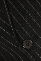 Saint Laurent Pinstriped wool-twill blazer