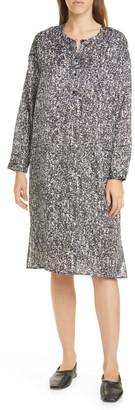 Eileen Fisher Round Neck C/L Dress