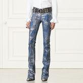 Ralph Lauren 867 Metallic Bootcut Jean