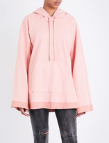 Drifter Thane cotton-jersey poncho hoody