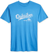 Quiksilver Men's On The Ball Graphic-Print Logo T-Shirt