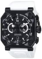 Zodiac ZMX ZO8539 Adventure Chrono Analog Display Swiss Quartz White Mens Watch