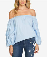 CeCe Cotton Off-The-Shoulder Top