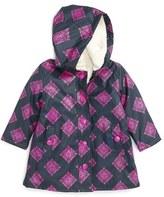 Hatley Toddler Girl's 'Splash' Waterproof Hooded Jacket
