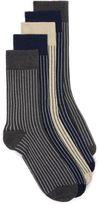 Topman Assorted Colour Stripe Socks 5 Pack