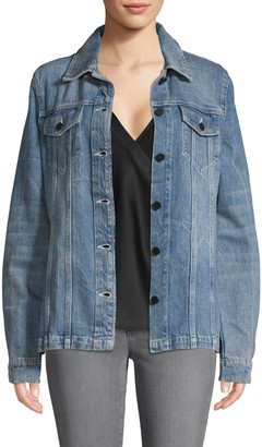 Alexander Wang Denim X Button-Front Denim Jacket