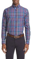 Paul & Shark Men's Competition Regular Fit Check Sport Shirt