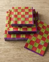 Mackenzie Childs MacKenzie-Childs Orchard Check Napkins & Guest Towels