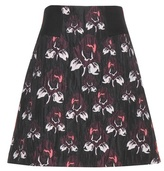 Schumacher Dorothee Audacious Floral-printed Skirt