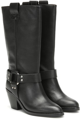 See By Chloã© Texan leather boots