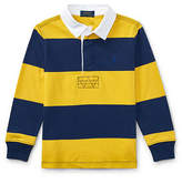 Ralph Lauren Striped Cotton Rugby Shirt