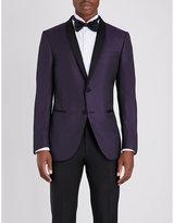 Corneliani Slim-fit Wool And Silk-blend Jacket