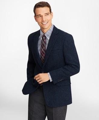 Brooks Brothers Regent Fit Three-Button Harris Tweed Sport Coat