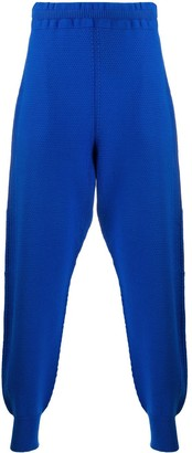 Homme Plissé Issey Miyake Plain Knitted Trousers
