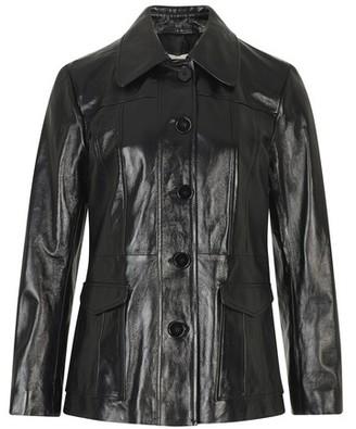 ALEXACHUNG Leather jacket