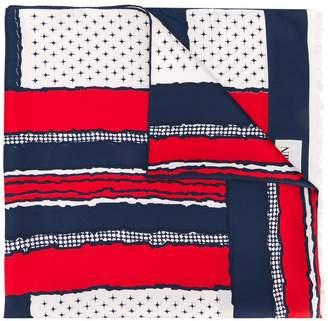 Balmain Pre-Owned printed scarf