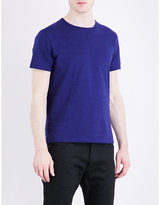 John Varvatos Crewneck Cotton-jersey T-shirt