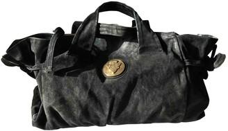 Gucci Hysteria Black Suede Handbags