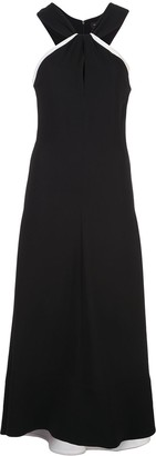 Proenza Schouler Knotted Back Long Dress