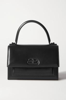 Balenciaga Sharp Mini Leather Tote - Black