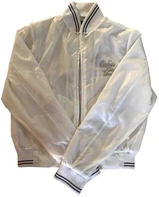 Calvin Klein White Synthetic Jackets