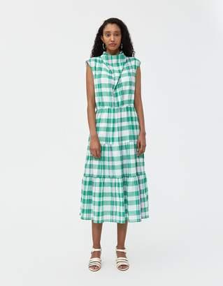 Need Emene Plaid Dress