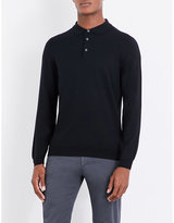 Boss Polo Wool Jumper