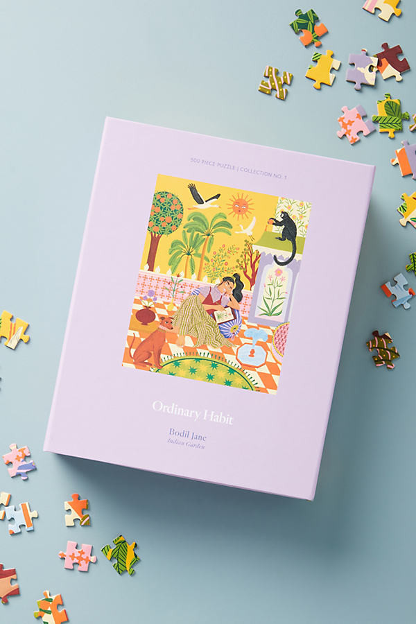 Ordinary Habit Puzzle By Anthropologie in Purple