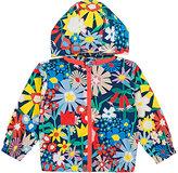 Stella McCartney Floral-Print Hooded Jacket