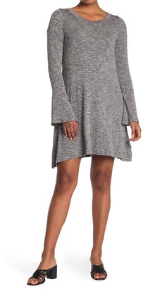 14th Place Bell Sleeve Dress