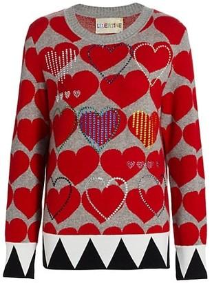 Libertine Love Crewneck Cashmere Pullover